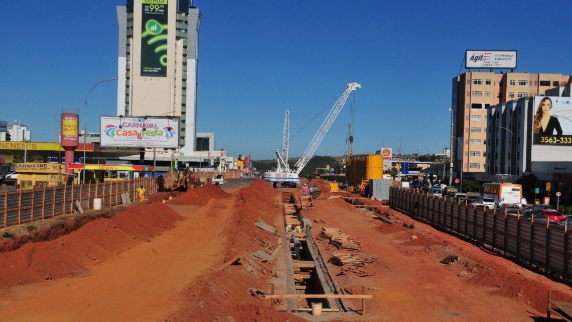 Avança cronograma de construção do Túnel de Taguatinga