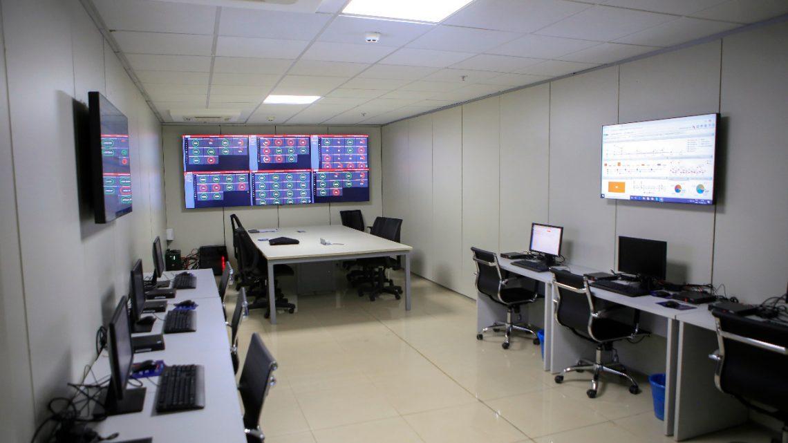Central de comando para hospitais e UPAs